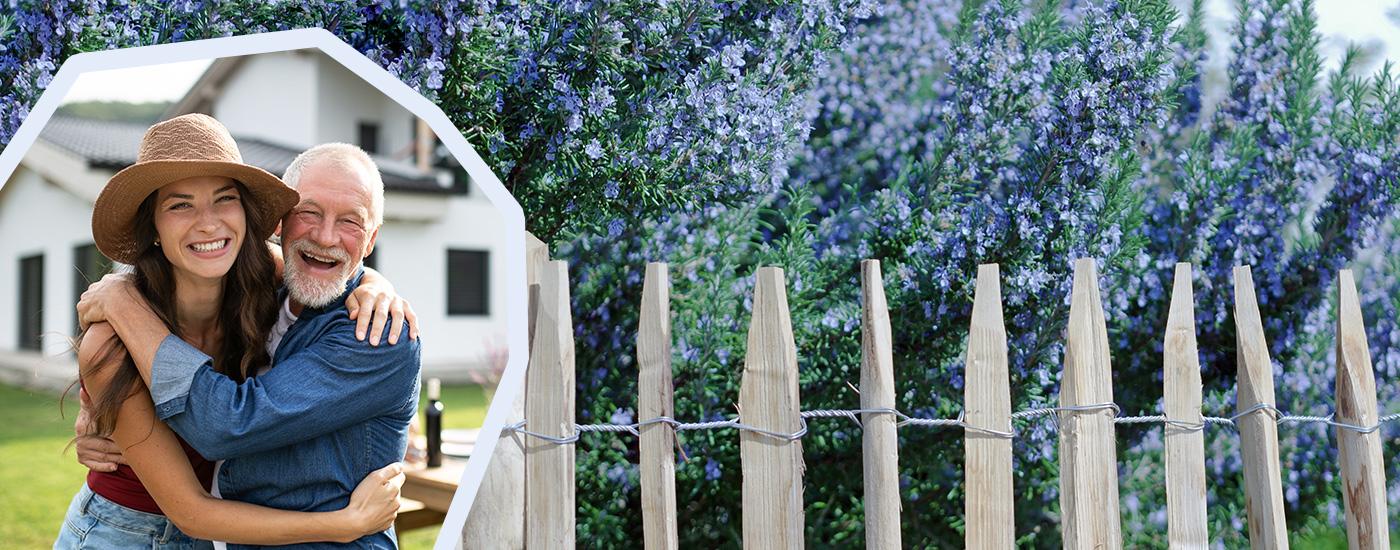 Onlineshop für natürliche Gartenzäune von natur-zaun